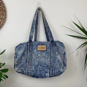 Vintage Shane Denim Shoulder Bag